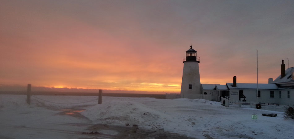 Pemaquid Point Light Sunset